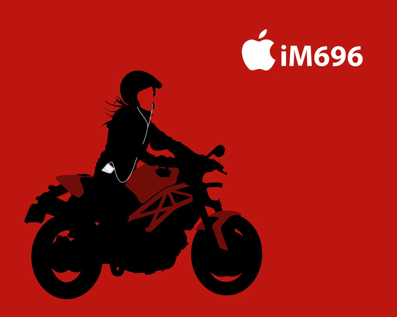 海外バイク Ipod風壁紙